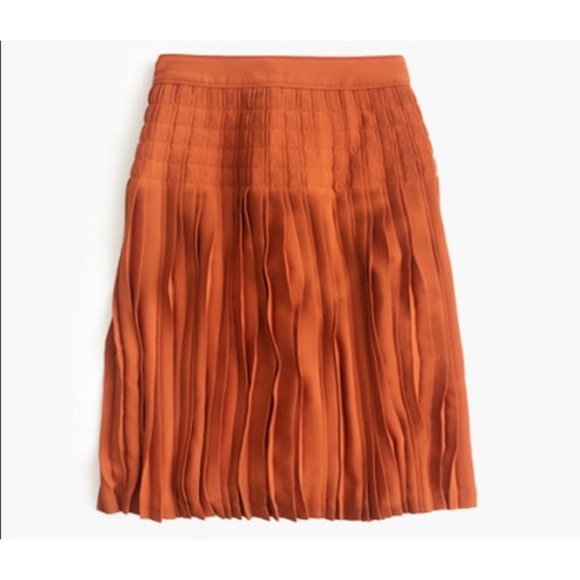 J. Crew Dresses & Skirts - J. Crew Micropleated Midi Skirt Size 8
